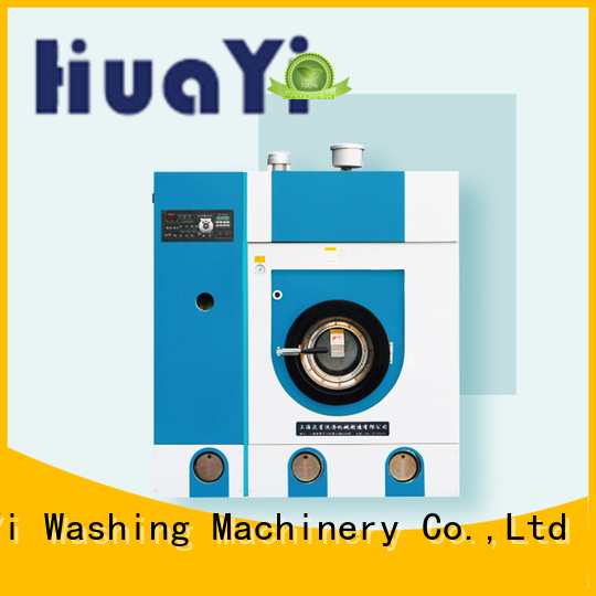HuaYi accurate dry cleaning washing machine directly sale for hotel
