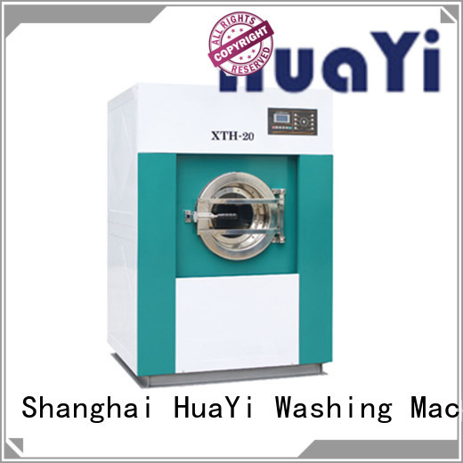 low noise industrial laundry machine factory price for restaurant