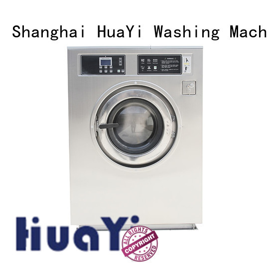 HuaYi stable commercial washer and dryer online for hotels