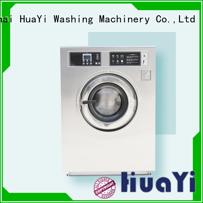 HuaYi low noise automatic washing machine factory price for military units