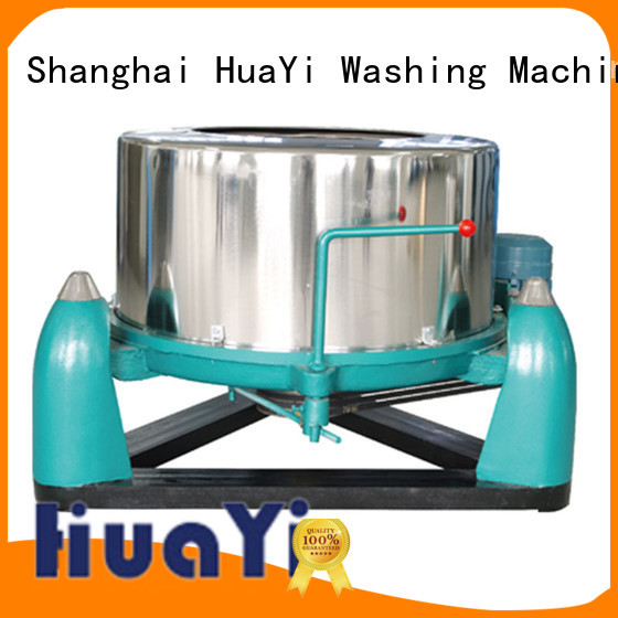 HuaYi low noise industrial laundry machine supplier for restaurant