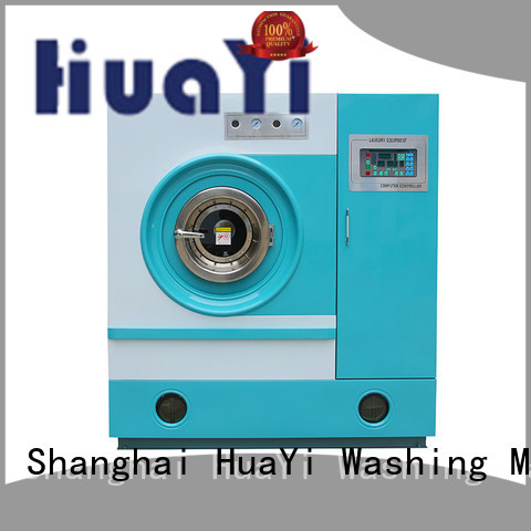HuaYi professional dry cleaning washing machine from China for lundry factory