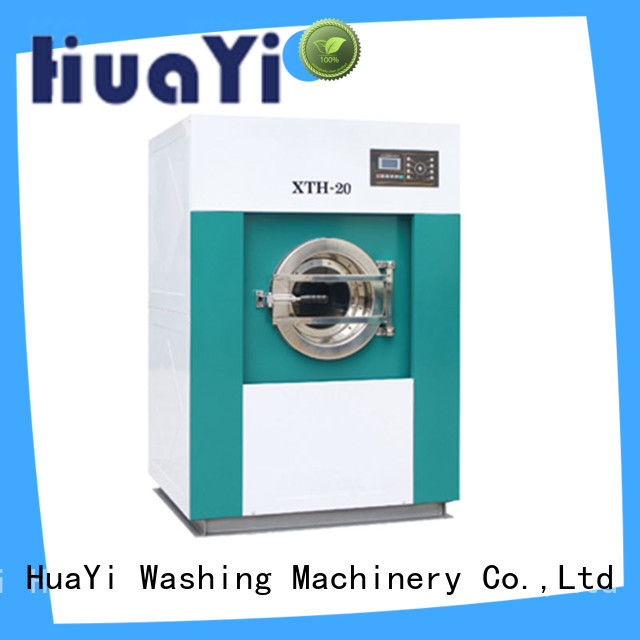 HuaYi commercial washing machine for sale at discount for hotel