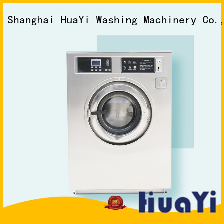 HuaYi industrial laundry equipment at discount for guest house