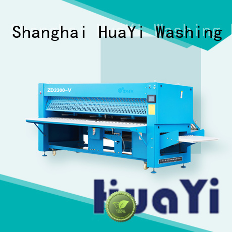 HuaYi precise commercial laundry folding machine promotion for school