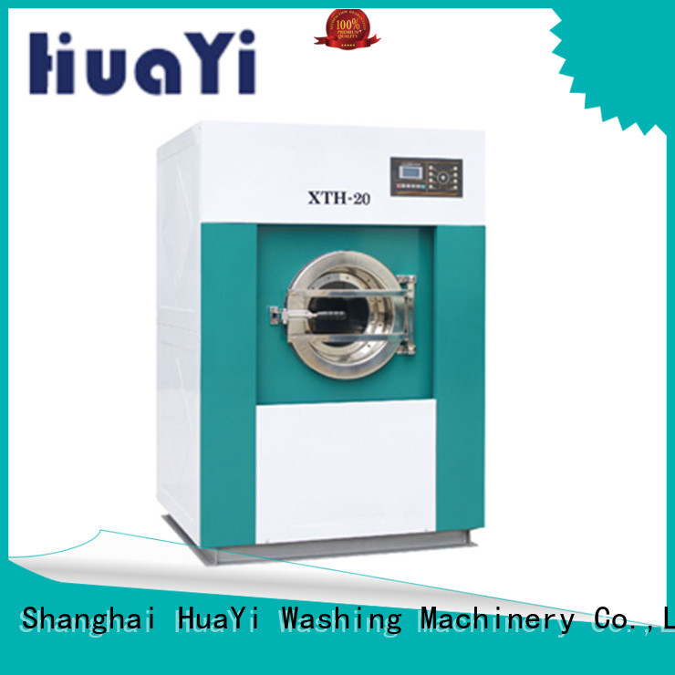 HuaYi energy saving industrial washing machine at discount for military units