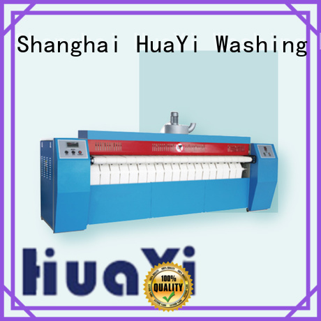 HuaYi electric ironing machine supplier for hotel