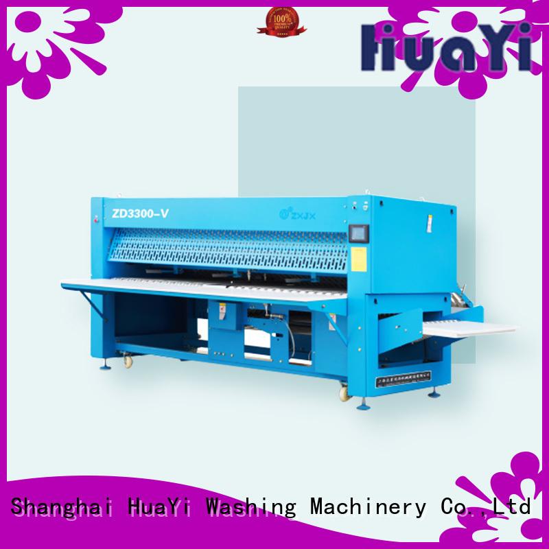 HuaYi high speed sheet folding machine manufacturer for hotel