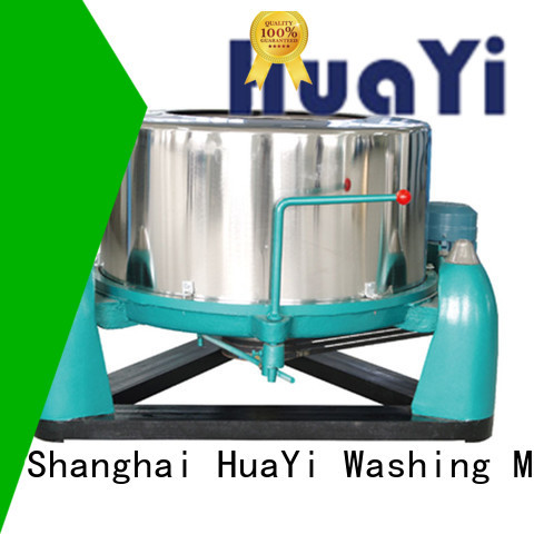 HuaYi commercial laundry equipment promotion for hospital