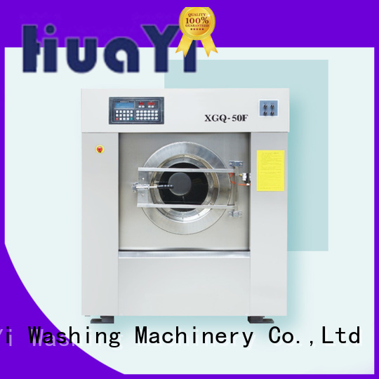 HuaYi industrial commercial laundry supplier for guest house