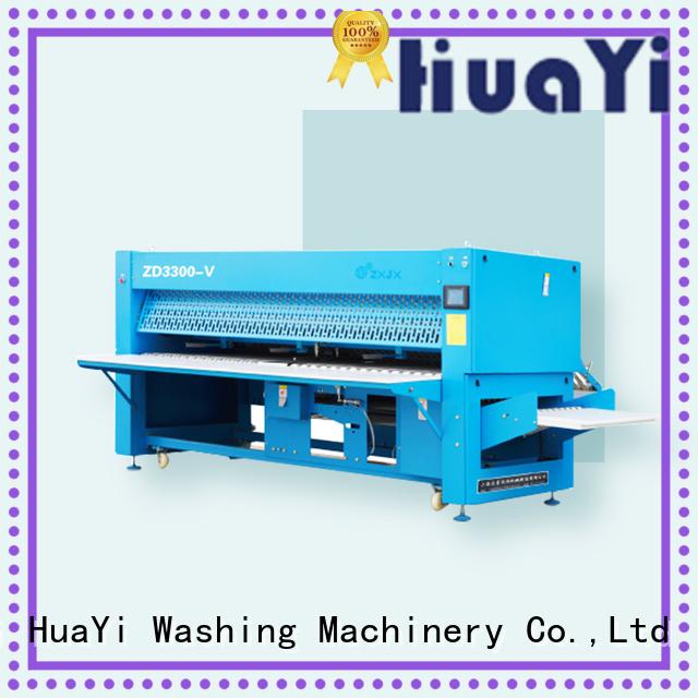 anti-static laundry folding machine factory price for hospital
